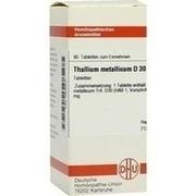 THALLIUM METALLICUM D 30 Tabletten