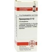 HYOSCYAMUS D 12 Globuli