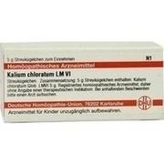 LM KALIUM chloratum VI Globuli