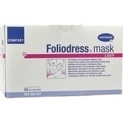 FOLIODRESS mask Comfort loop blau OP-Masken