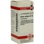 HEPAR SULFURIS D 10 Globuli