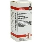 ARGENTUM NITRICUM C 200 Globuli