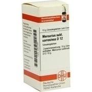 MERCURIUS SUBLIMATUS corrosivus D 12 Globuli