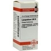 LM LYCOPODIUM III Dilution