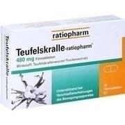 TEUFELSKRALLE RATIOPHARM Filmtabletten