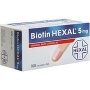 BIOTIN HEXAL 5 mg Tabletten