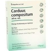 CARDUUS COMPOSITUM ad us.vet.Ampullen