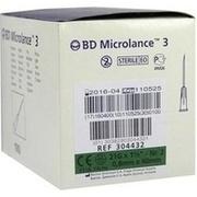 BD MICROLANCE Kanüle 21 G 1 1/2 0,8x40 mm