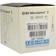 BD MICROLANCE Kanüle 23 G 1 0,6x25 mm