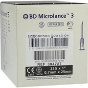 BD MICROLANCE Kanüle 22 G 1 0,7x25 mm