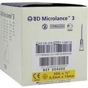 BD MICROLANCE Kanüle 30 G 1/2 0,29x13 mm