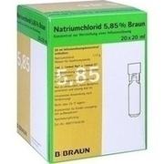 NATRIUMCHLORID 5,85% Braun MPC Infusionslsg.-Konz.