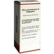 RHUS TOXICODENDRON N Oligoplex Liquidum