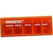 ANABOX Tagesbox orange