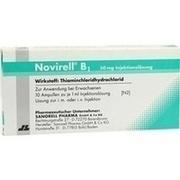 NOVIRELL B1 50 mg Injektionslösung
