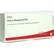 THYMUS GLANDULA GL D 10 Ampullen