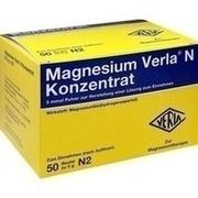 MAGNESIUM VERLA N Konzentrat Plv.z.H.e.L.z.Einn.