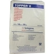 TOPPER 8 Kompr.10x20 cm unsteril