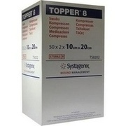 TOPPER 8 Kompr.10x20 cm steril