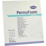PERMAFOAM Cavity Schaumverband 10x10 cm