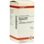 MERCURIUS SOLUBILIS Hahnemanni D 12 Tabletten
