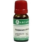GUAJACUM LM 6 Dilution