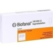 BIOFANAL Vaginaltabletten