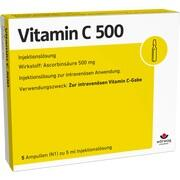 VITAMIN C 500 Ampullen