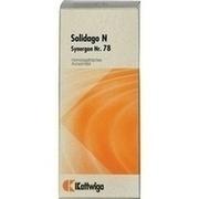 SYNERGON KOMPLEX 78 Solidago N Tropfen