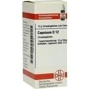 CAPSICUM D 12 Globuli