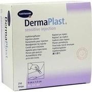DERMAPLAST sensitive Injektionspflaster 1,6x4 cm
