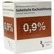 KOCHSALZLÖSUNG 0,9% Plastikamp.Fresenius