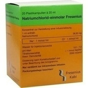 NATRIUMCHLORID-einmol.Fresenius PE-Amp.Inf.-L.-K.