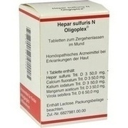 HEPAR SULFURIS N Oligoplex Tabletten