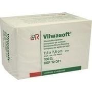 VLIWASOFT Vlieskompressen 7,5x7,5 cm unsteril 4l.