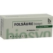 FOLSÄURE 5 mg Tabletten