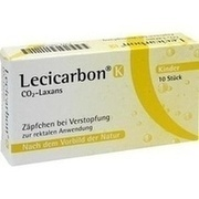 LECICARBON K CO2 Laxans Kindersuppositorien