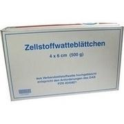 ZELLWA Blättchen hochgebl. 4x6 cm