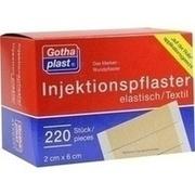 GOTHAPLAST Injektionspfl.2x6 cm