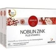 NOBILIN Zink Plus Vitamin C Tabletten