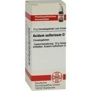 ACIDUM SULFURICUM D 10 Globuli