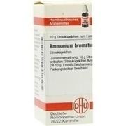 AMMONIUM BROMATUM D 4 Globuli