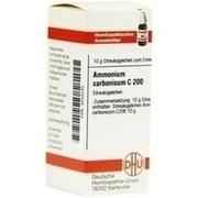 AMMONIUM CARBONICUM C 200 Globuli