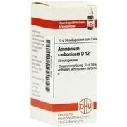 AMMONIUM CARBONICUM D 12 Globuli