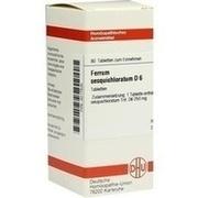FERRUM SESQUICHLORATUM D 6 Tabletten
