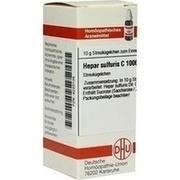 HEPAR SULFURIS C 1000 Globuli