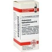 HISTAMINUM hydrochloricum D 6 Globuli