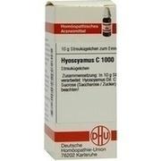 HYOSCYAMUS C 1000 Globuli
