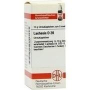 LACHESIS D 20 Globuli