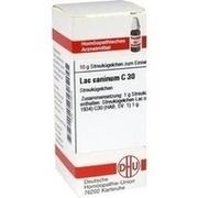 LAC CANINUM C 30 Globuli